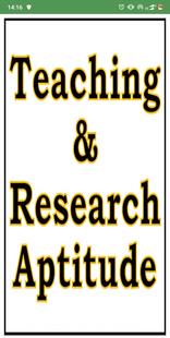 Screenshots - Teaching & Research Aptitude (UGC NET / JRF)