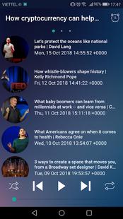 Screenshots - TED audio