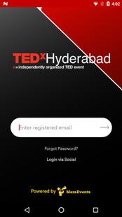 Screenshots - TEDxHyderabad