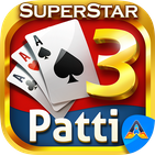 Teen Patti Superstar - 3 Patti Online Poker Gold