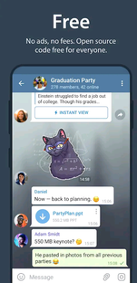 Screenshots - Telegram Xchats
