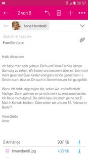 Screenshots - Telekom Mail