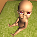 The Baby in Dark Yellow House: Scary Baby