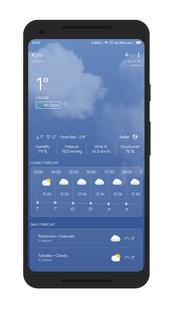 Screenshots - The Weather App