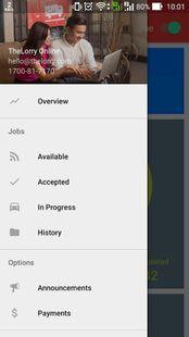 Screenshots - TheLorry (Partner App)