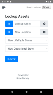 Screenshots - TietoEVRY Asset management