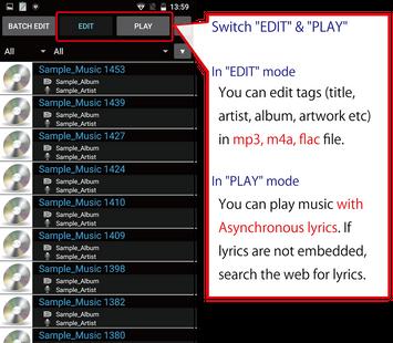 Screenshots - TK Music Tag Editor