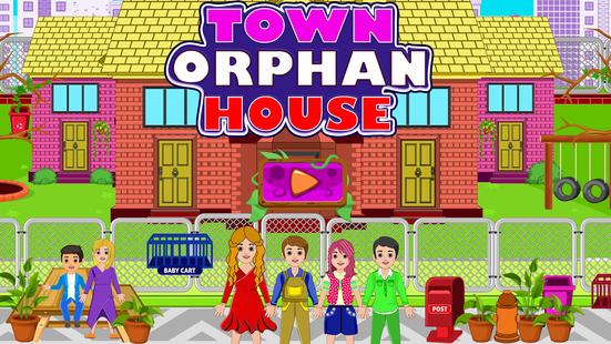 Screenshots - Town Orphan House: Pretend Home Games