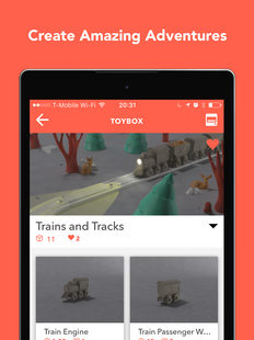Screenshots - Toybox - 3D Print your toys!