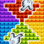 Toys Cubes Blast: Collapse Logic Puzzles Block Pop