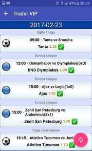 Screenshots - Trader VIP - Betting Tips