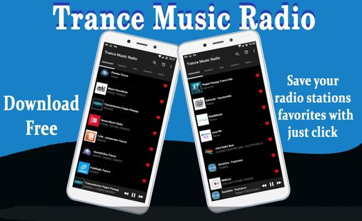 Screenshots - Trance Music Radio