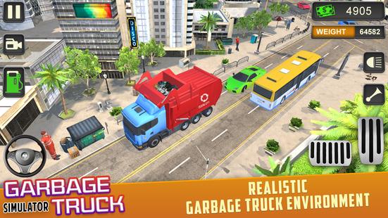Screenshots - Trash Truck Driving Simulator: Dumping Game