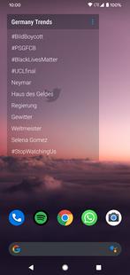 Screenshots - Trends Widget for Twitter