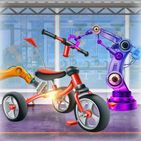 Tricycle Maker Factory: Design & Paint Bicycles