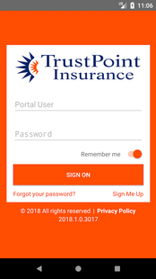 Screenshots - TrustPoint MobileInsured