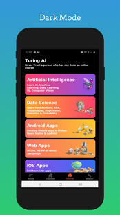 Screenshots - Turing ai - Learn artificial intelligence, ML, DS