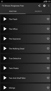 Screenshots - TV Shows ringtones free