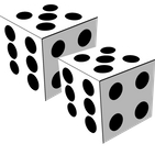 Two Dice: Simple free 3D dice