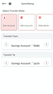 Screenshots - UBA Mobile Banking