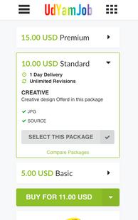 Screenshots - UdYamJob - Freelance Services