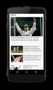 Screenshots - UK Newspapers PRO