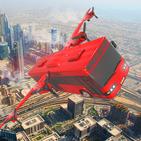 Ultimate Futuristic flying bus Driving Simulator