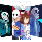 Underground Wallpapers - Sans & Frisk