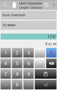 Screenshots - Unit Converter