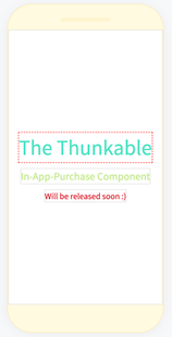 Screenshots - Unofficial Thunkable In-App-Purchase Component