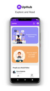 Screenshots - Uphub - Coding & Developer Communities App