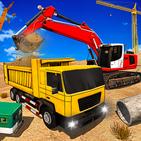 US Excavator Simulator: Black City Builder