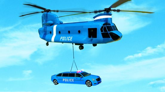 Screenshots - US Grand Airplane Limo Police Car Transport Games