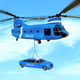 US Grand Airplane Limo Police Car Transport Games