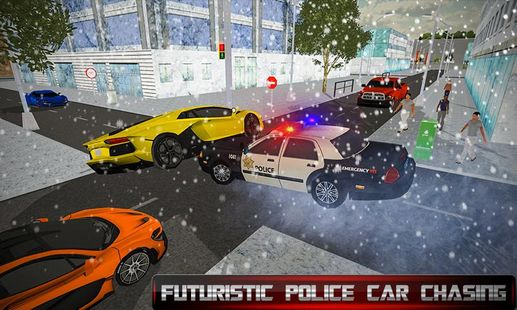 Screenshots - US Police Transform Robot Car: Real Snow City