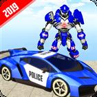 US Robot Police Car Transforming 19