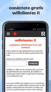 Screenshots - usuario servicios R