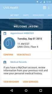 Screenshots - UVA Health