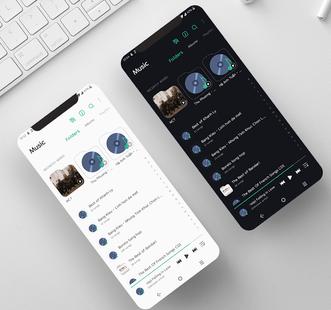 Screenshots - [UX9] Fluent Theme LG Android 10 G8 V50 V60 Velvet