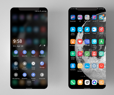 Screenshots - [UX9] Material Theme LG Android 10