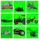 Vehicles Green Screen Effect Videos - Chroma Key