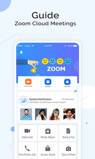 Screenshots - Video call Cloud Meetings &Zoom Guide Conferences