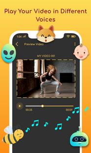 Screenshots - Video Voice Changer For Short Video Makers