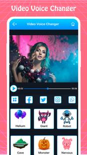 Screenshots - Video Voice Changer - Voice Effect, Sound Changer