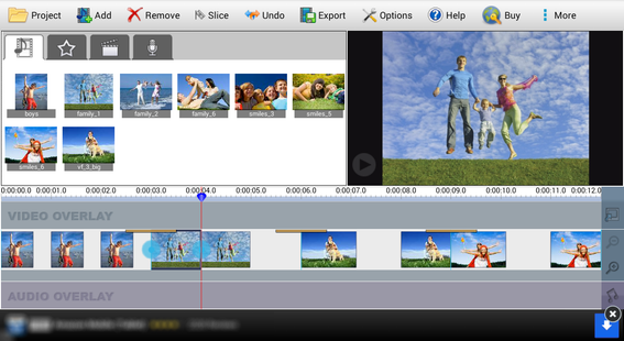 Screenshots - VideoPad Video Editor Free