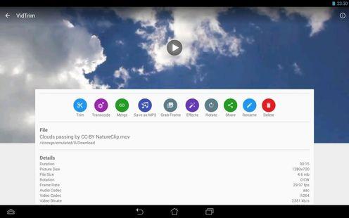 Screenshots - VidTrim Pro - Video Editor