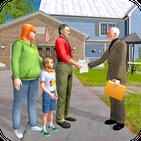 Virtual Family House Shift: Life Simulator Games
