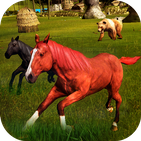 Virtual Horse Family Sim : Animal Games