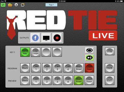 Screenshots - vMix Panel