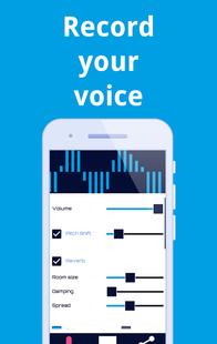 Screenshots - VMod Voice Changer